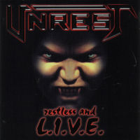 [Unrest Restless And Live Album Cover]