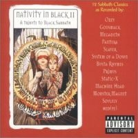 [Various Artists Nativity In Black II: A Tribute To Black Sabbath Album Cover]