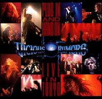 [Vicious Rumors Plug In and Hang On - Live in Tokyo Album Cover]