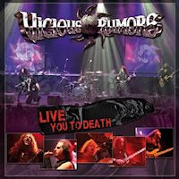 [Vicious Rumors Live You To Death Album Cover]