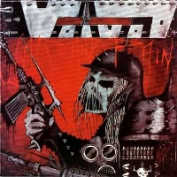 [Voivod War and Pain Album Cover]