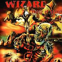 Wizard Battle Of Metal Album Cover
