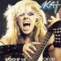 The Great Kat Worship Me or Die! Album Cover