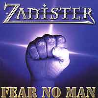 Zanister Fear No Man Album Cover
